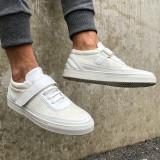 Pantofi casual Cano White Gold - Adidasi barbati, Marime: 40, 41, 42, 43, Culoare: Din imagine