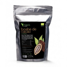 Boabe de cacao intregi Ecologice/Bio 250g, Niavis