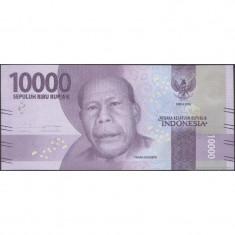 Bancnota Indonezia 10.000 Rupii 2016 - PNew UNC - bancnota asia