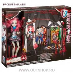 Jucarie fetite set circus scaregrounds Monster High Rochelle Goyle Mattel - Papusa Mattel, 6-8 ani