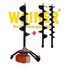 Motoburghiu pamant WAINER EA1 2500W 3 burghie