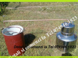 Cazan din Inox,pt Tuica.Cap. 60 de litri+Serpentina+Vas pt apa.NOU!!