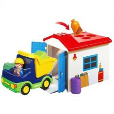 1.2.3 - Camion cu Garaj - Figurina Povesti Playmobil