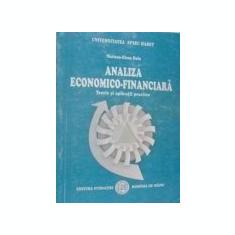Mariana Elena Balu - Analiza economico-financiara - Teorie si aplicatii practice