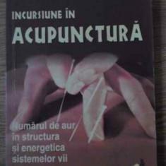 Incursiune In Acupunctura - Dan Vlad Filimon, Vasile Postolica, 394892 - Carte Medicina alternativa