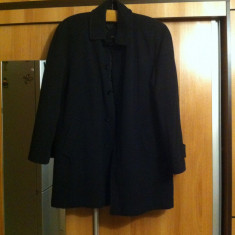 PALTON BARBATESC - Palton barbati, Marime: 50, Culoare: Negru