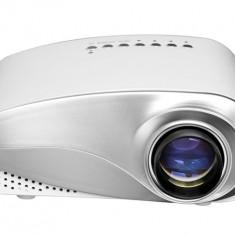 Videoproiector Led Mini Techstar ML201 Alb HDMI USB TV Tuner