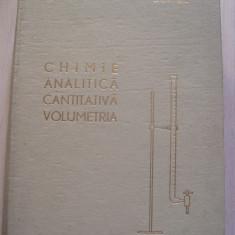 CHIMIE ANALITICA CANTITATIVA VOLUMETRIA CANDIN LITEANU