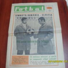 Revista Fotbal 21 11 1968