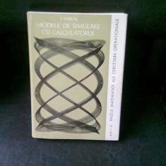 MODELE DE SIMULARE CU CALCULATORUL - I. VADUVA