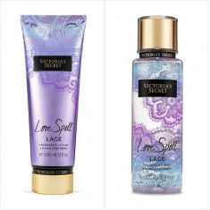 Victoria's Secret LOVE SPELL LACE - set crema si spray de corp - Crema de corp