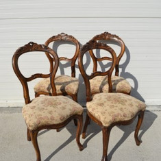 Set 4 scaune Louis Philippe