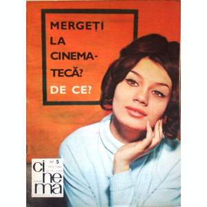 REVISTA CINEMA  1965   NR. 5