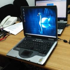 LAPTOP COMPAQ EVO N1050V, Intel Pentium 4-M, Diagonala ecran: 15, Sub 1 GB, Sub 80 GB, Windows XP