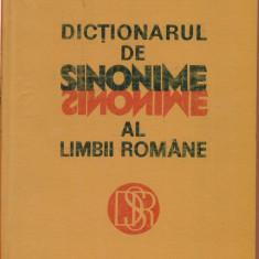 Dictionarul De Sinonime Al Limbii Romane - Luiza si Mircea Seche - Dictionar sinonime