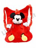 Rucsac cu papusa detasabila Mickey Mouse pentru copii