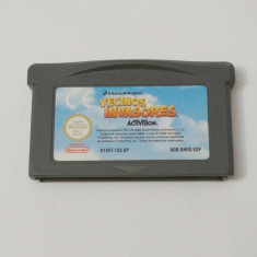 Joc Nintendo Gameboy Advance - Invading Neighbors - Jocuri Game Boy, Actiune, Toate varstele, Single player