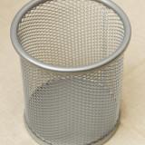Suport creioane model argintiu