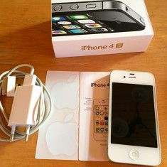 Vând iPhone 4s Apple, 8Gb, Alb, Vodafone
