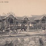 SALISTE, PAVILIONUL DE JOC DIN SALISTE - Carte Postala Transilvania 1904-1918, Necirculata, Printata