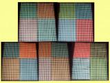 Romania 1944-1945 - Mihai I filigran MM, LP 154 set complet 20 coli x 100 timbre, Regi, Nestampilat