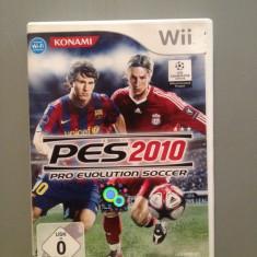 PES 2010 - Joc pentru Nitendo Wii - Original/Aproape Nou - Jocuri WII Altele, Sporturi, 3+