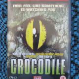 CROCODILE (1 DVD FILM HORROR / GROAZA - STARE FOARTE BUNA!!!) - Film thriller, Engleza