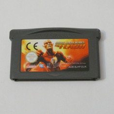 Joc Nintendo Gameboy Advance - Justice League Heroes The Flash - Jocuri Game Boy, Actiune, Toate varstele, Single player