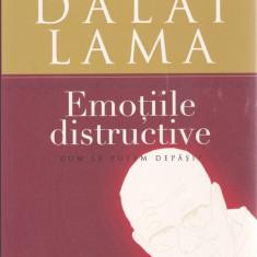 Carte: Daniel Goleman - Emotiile distructive - Dialog stiintific cu Dalai Lama, Curtea Veche