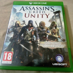Assassin's Creed Unity, XBOX one, original, alte sute de jocuri! - Jocuri Xbox One, Actiune, 18+, Single player
