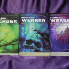 Bernard Werber - trilogia Furnicile Ziua furnicilor Revolutia furnicilor (f5045 - Carte SF, Nemira