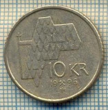 10468 MONEDA- NORVEGIA - 10 KRONER -anul 1996 -STAREA CARE SE VEDE, Europa