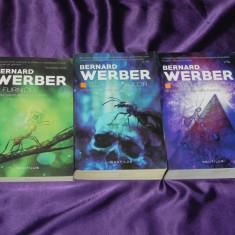 Bernard Werber - trilogia Furnicile Ziua furnicilor Revolutia furnicilor (f5046, Nemira