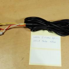 Cablu SVideo 6p - 3 RCA Tata 1,5m