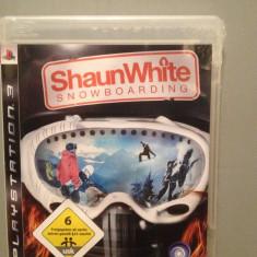 SHAUN WHITE SNOWBOARDING - Joc PlayStation 3 (PS3) - Original/ Nou /Sigilat - Jocuri PS3 Ubisoft, Simulatoare, Toate varstele