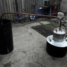 Cazan tuica aluminiu +racitor cu serpentina din cupru
