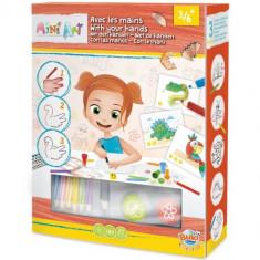 Mini Arta - Desenam cu Mainile - Jocuri arta si creatie