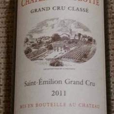 Vin Bordeaux Château La Clotte 2011- Grand Cru Classé Saint Emilion - Sampanie