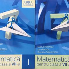 CLUBUL MATEMATICIENILOR - MATEMATICA PENTRU CLASA A VII-A (2 volume) - Culegere Matematica