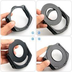 Inel adaptor 77mm pentru filtre Cokin Seria P + Holder - Filtru foto, 70-80 mm