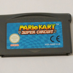 Joc Nintendo Gameboy Advance - Mario Kart Super Circuit - Jocuri Game Boy Altele, Actiune, Toate varstele, Single player