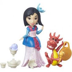 Disney Little Kingdom Petrecerea cu Ceai a lui Mulan - Figurina Povesti Hasbro