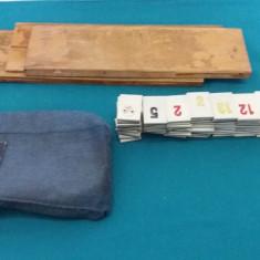 JOC VECHI ROMÂNESC RUMMY/ARTA DECORATIVĂ CLUJ-NAPOCA - Joc colectie