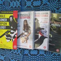 Trilogia FEMALE PRISONER SCORPION (3 DVD-uri ORIGINALE - FILM JAPONEZ EROTIC!!!) - Film Colectie, Engleza