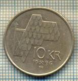 10469 MONEDA- NORVEGIA - 10 KRONER -anul 1996 -STAREA CARE SE VEDE, Europa