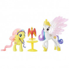 My Little Pony Set Celestia si Fluttershy Prieteni pe viata B9849 Hasbro