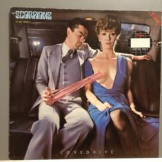SCORPIONS - LOVEDRIVE (1979/BREEZE REC/ HOLLAND) - Vinil/Vinyl/IMPECABIL(NM) - Muzica Rock emi records