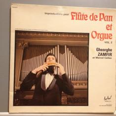 ZAMFIR - FLUTE DE PAN et Orgue (1973/Music Disc /RFG) - Vinil/Vinyl - Muzica Populara Altele