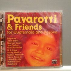 PAVAROTII & FRIENDS for GUATEMALA -2CD (1999/DECCA/UK) - CD ORIGINAL/Sigilat/Nou - Muzica Pop decca classics