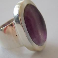 Inel argint cu piatra mov -1721